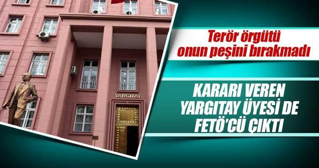 Balyoz kararını veren Yargıtay üyesi de FETÖ'cü çıktı