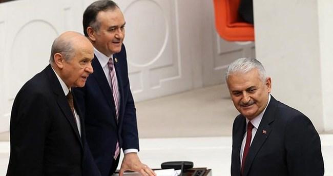 Başbakan Yıldırım Bahçeli ile görüşecek