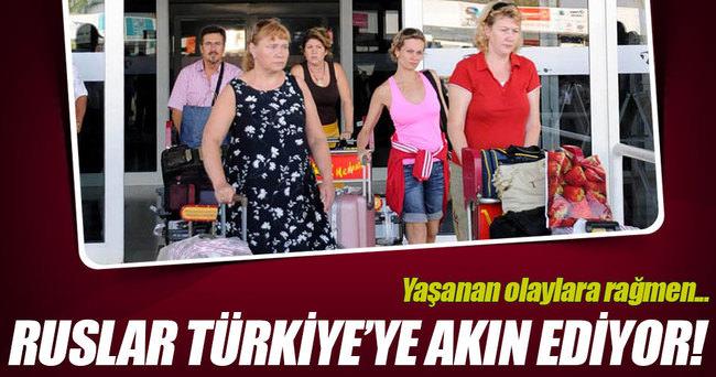 Rus turistlerin Türkiye talebi artıyor