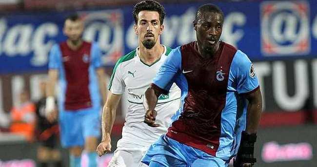 Trabzonspor'da N'Doye sürprizi
