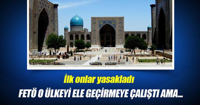 FETÖ, Özbekistan'da da huzuru, güveni bozmaya çalıştı
