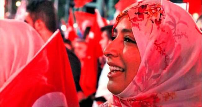 Nobel ödüllü Tevekkül Karman demokrasi nöbetinde 19