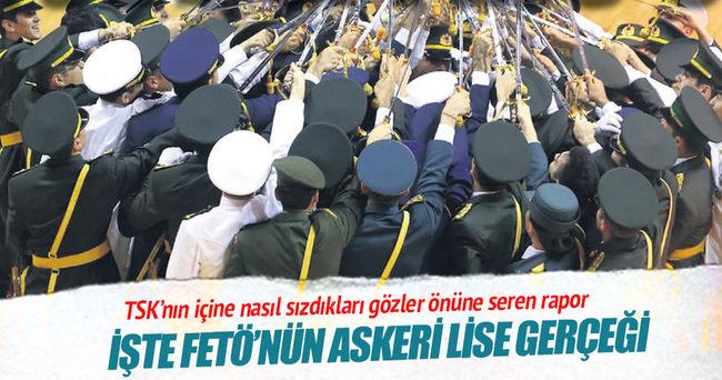 Askeri liselerin % 97'si FETÖ'cü