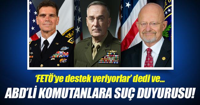 ABD'li komutanlara suç duyurusu!