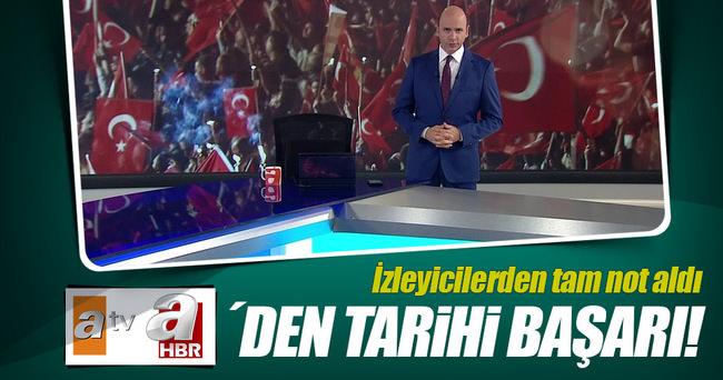 ATV Haber'in tarihi başarısı