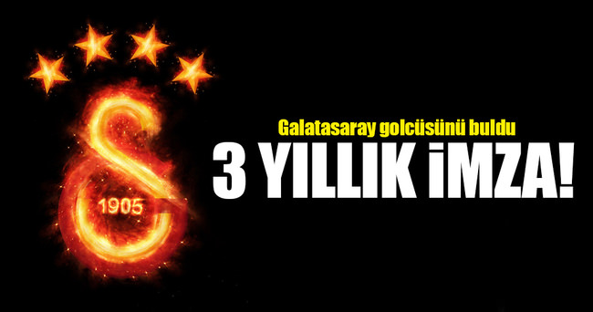 Galatasaray golcüsünü buldu! 3 yıllık imza
