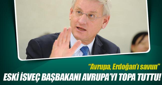 Eski İsveç Başbakanı Bildt, Avrupa'nın tepkisizliğini eleştirdi