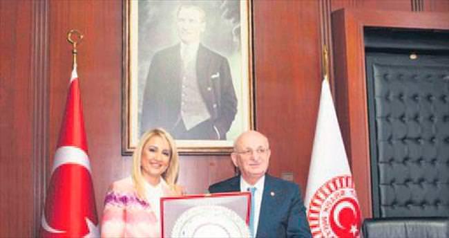 TBMM Başkanı İÇGİAF'ı ağırladı