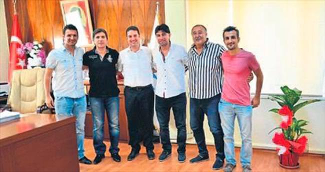 Yöneticilerinden Ataşbak'a ziyaret