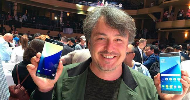 Galaxy Note 7 gözünüzden tanıyacak