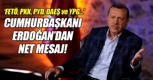 'PKK, FETÖ, PYD, DAİŞ ve YPG birbirleriyle örtüşüyor'