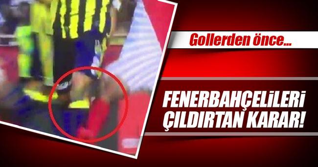 Fenerbahçe'nin iki golü için büyük itiraz!