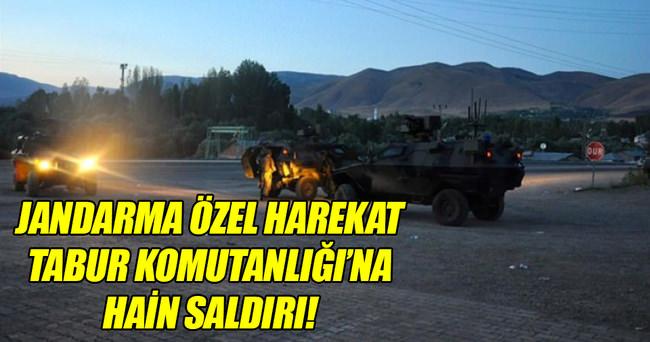 Jandarma Özel Harekat Tabur Komutanlığı'na saldırı!