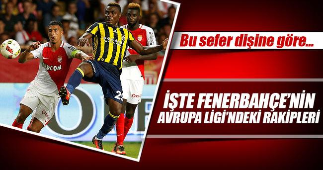 İşte Fenerbahçe'yi UEFA'da bekleyen rakipler