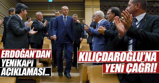 Erdoğan: Kılıçdaroğlu'nun da Yenikapı'da olmasını istiyorum