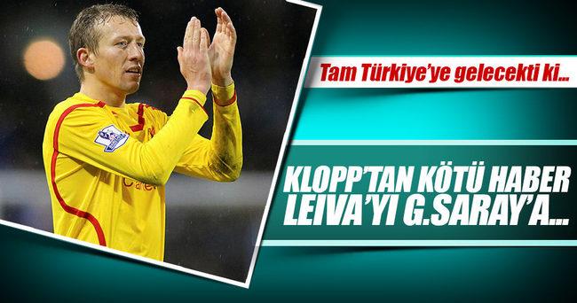 Liverpool'dan Galatasaray'a kötü haber!