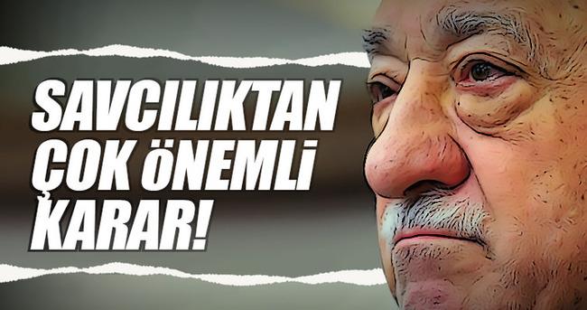 Fetullah Gülen'e darbeden yakalama kararı!