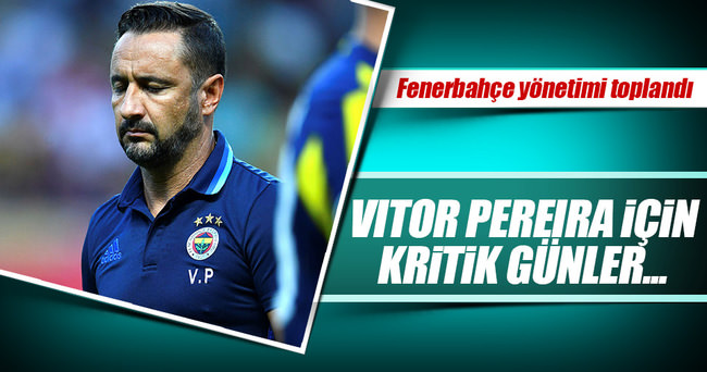 Fenerbahçe'de Pereira'nın geleceği tartışılıyor