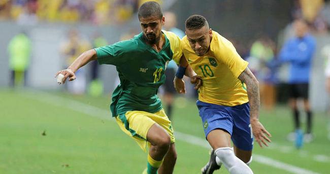 Neymar'lı Brezilya'dan kötü başlangıç
