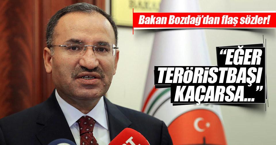 Adalet Bakanı Bozdağ'dan flaş açıklamalar