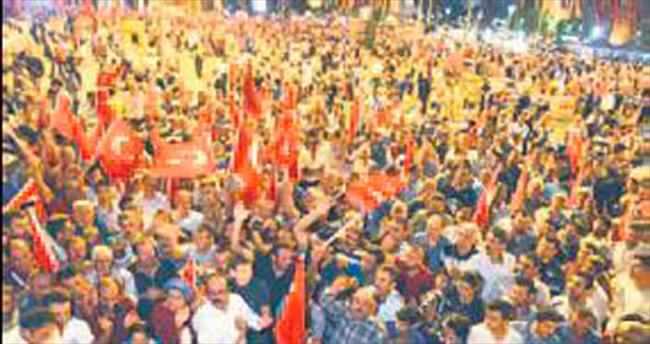 Kayseri Şeker'den demokrasi nöbeti