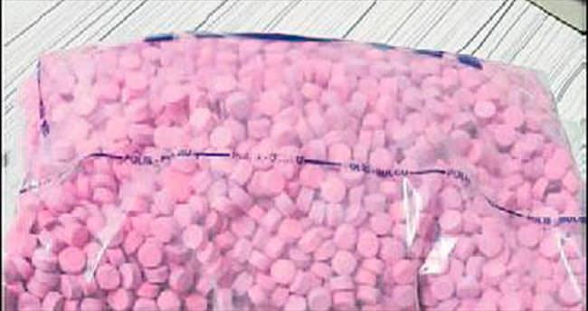 12 bin uyuşturucu hapla yakalandı