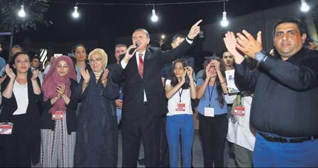 Erdoğan: Yenikapı'yı Pensilvanya da izleyecek
