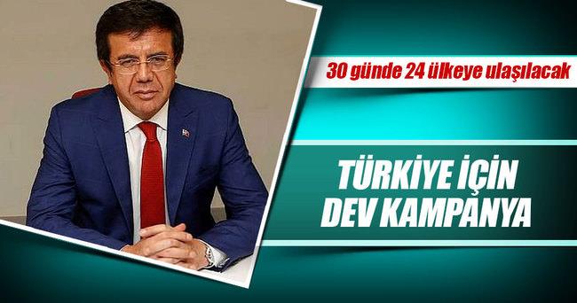 Türkiye için dev kampanya