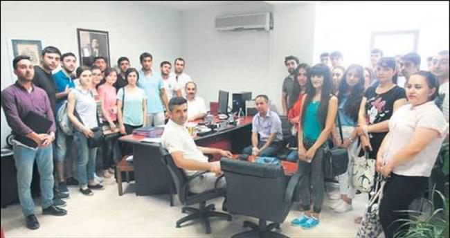Gürcistanlı tıp öğrencileri Uludağ Üniversitesi'nde