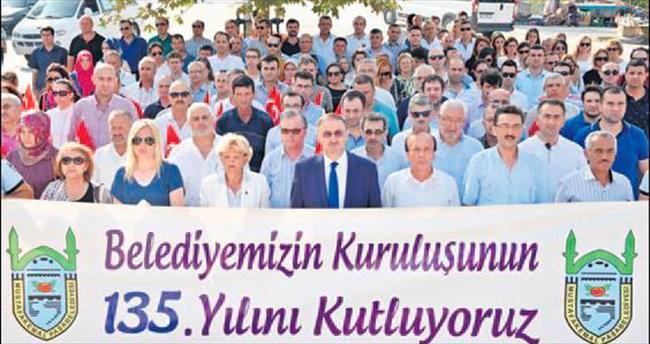 Mustafakemalpaşa Belediyesi 135 yaşında