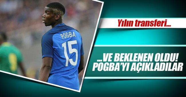Manchester United, tarihi Pogba transferi açıkladı
