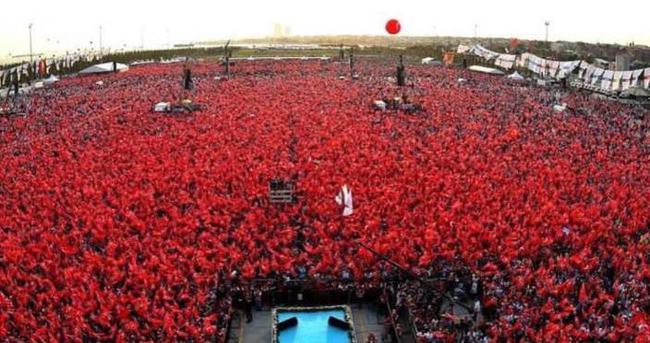 Yenikapı Demokrasi ve Şehitler mitingine kaç kişi katıldı?