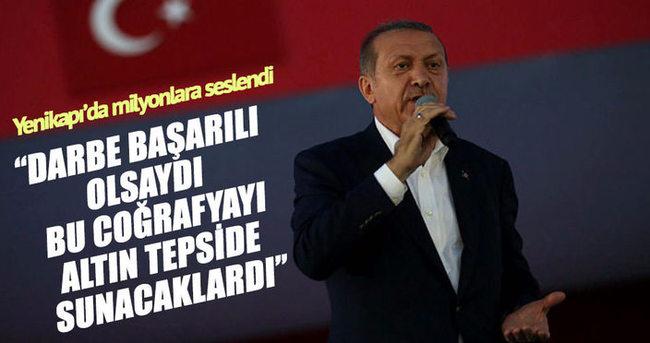 Cumhurbaşkanı Erdoğan: Hepimizin gazası mübarek olsun