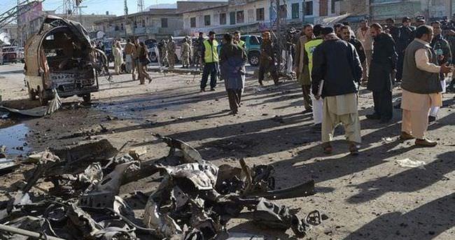 Pakistan'daki patlama