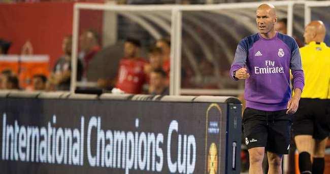 Zidane, oğlunu kadroya aldı