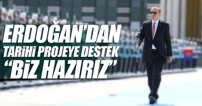 Erdoğan: Türk Akımı için hazırız