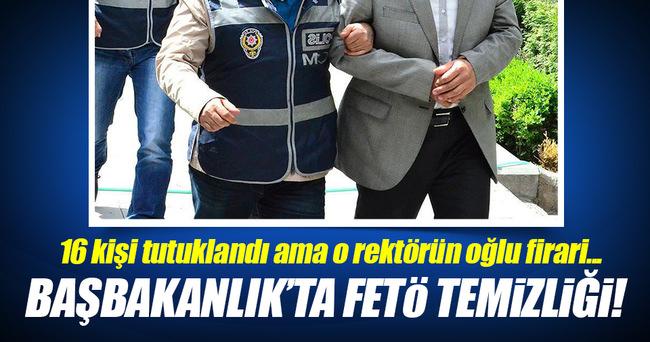 16 Başbakanlık çalışanı tutuklandı!