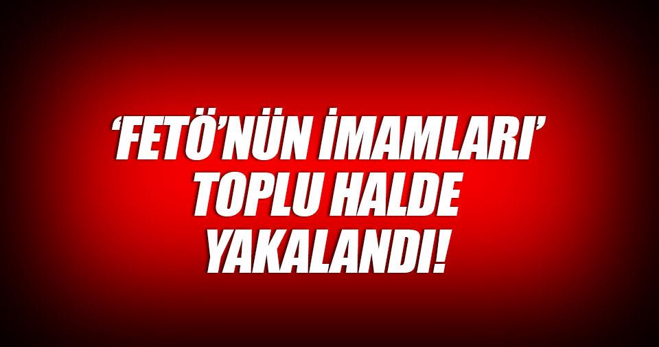 Kocaeli Emniyet Müdürlüğü'nün FETÖ 'imamları' yakalandı!