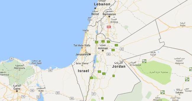 Google Filistin'i haritadan çıkardı