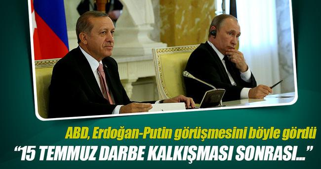 ABD basınında Erdoğan-Putin görüşmesi