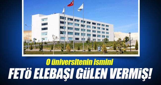 O Üniversitesinin ismini Fetullah Gülen vermiş!