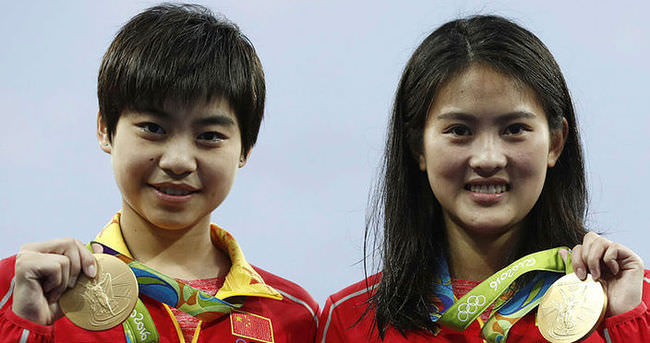 Çin, olimpiyatlara damga vurmaya devam ediyor