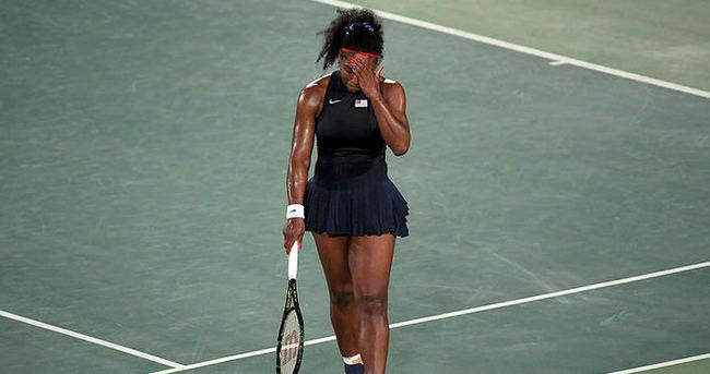 Efsane Serena olimpiyatlara veda etti