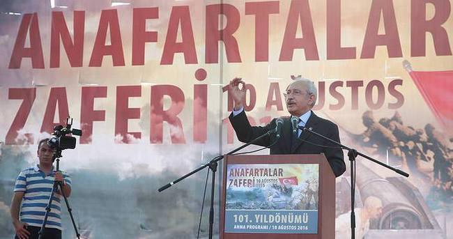 Kılıçdaroğlu: Cumhuriyet tarihinin en kanlı darbe girişimiydi