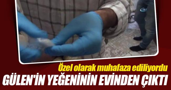 Gülen'in yeğeninin evinde özel muhafaza içerisinde tırnak ve kıl bulundu