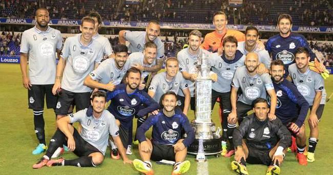 Emre Çolak, Deportivo ile ilk kupasını kazandı