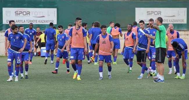 Karabükspor'da yeni sezon hazırlıkları