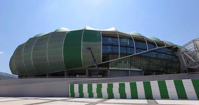 Timsah Arena'nın o eksiği de gideriliyor