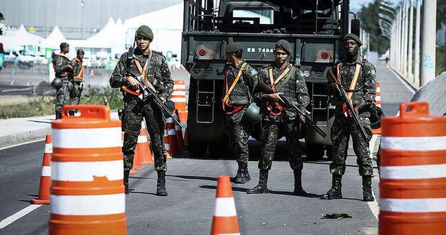 Rio'da güvenlik üst seviyede