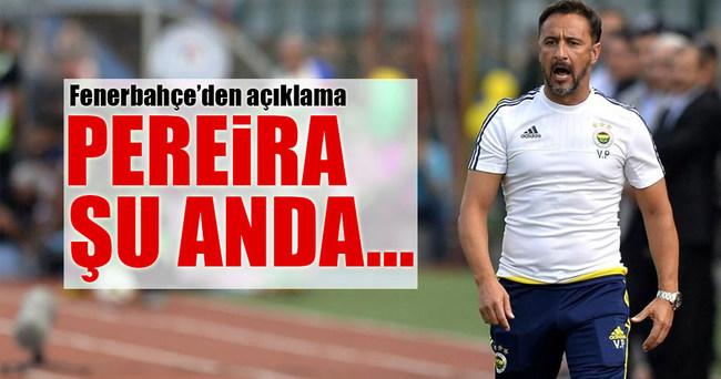 Vitor Pereira ile ilgili yeni gelişme!